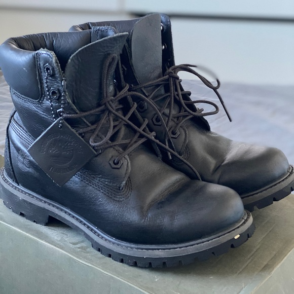 Women's Leather Timberland Boots